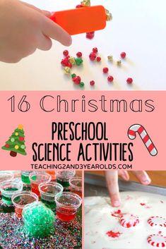 16 Christmas Science Activities for Preschool