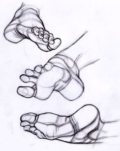 Anatomy of the Human Foot, Anatomie des menschlichen Fußes Figure Sketching, Figure Drawing Reference, Art Reference Poses, Hand Reference, Feet Drawing, Life Drawing, Drawing Faces, Pencil Art Drawings, Drawing Sketches
