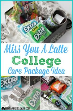 Show Your College Student You Care By Sending Them This Miss A Latte Package