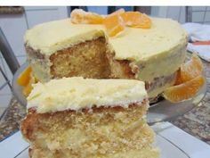 NAKED CAKE DE LARANJA - BOLO GELADO - YouTube