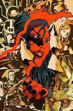 Red She-Hulk - Francesco Francavilla