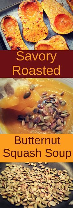 This healthy roasted butternut squash soup is easy to make and. This healthy roasted butternut squash soup is easy to make and DELICIOUS!