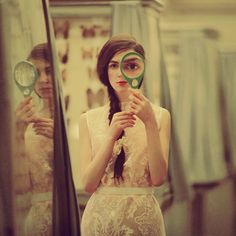 oprisco - girl with magnifying glass