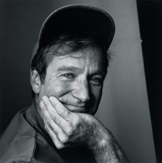 Robin Williams | by Irving Penn, New York, ca1998