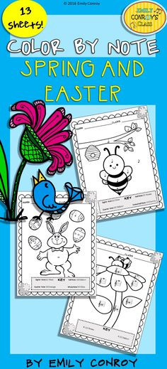 Music Coloring Pages (16 Thanksgiving Music Coloring Sheets) | Note ...