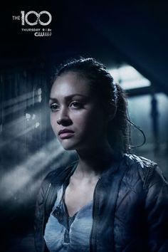 Lindsey Morgan as (Raven) #The100