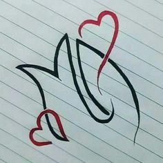 M Letter Design, Alphabet Letters Design, Alphabet Images, Monogram Design, Lettering Design, Alphabet Stencils, Love Heart Images, Love You Images, Alphabet Wallpaper
