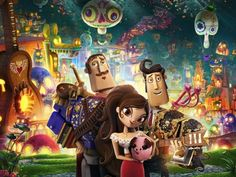 Novo trailer da animação 'Festa no Céu', produzida por Guillermo del Toro >> http://glo.bo/V46TlA