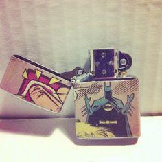 Batman Zippo Lighter Comic Book by nerdyhussy on Etsy, $30.00