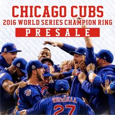 2016 Chicago Cubs World Series Championship Ring From ChampionshipRingClub.com, best charistmas gift for all CUBS fans.