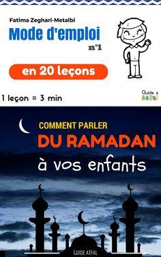 Guide Gratuit 1 Ramadan Activities, Ramadan Crafts, Ramadan Decorations, Religion, Islam For Kids, Learn Islam, Funny Slogans, English Classroom, Months In A Year