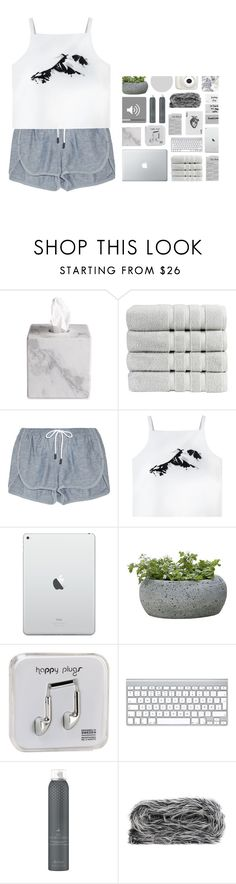 """Imperfectly perfect"" by styleburst ❤ liked on Polyvore featuring Waterworks, Christy, rag & bone, Campania International, Happy Plugs, Drybar and Décke"