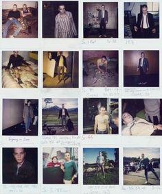 Ewan McGregor's On Set polaroids from Trainspotting (1996)