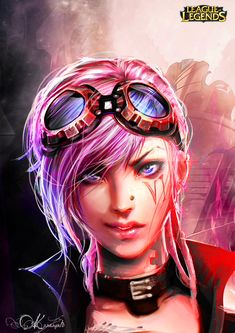 Vi Portrait_League of Legends by Kureiyah.deviantart.com on @deviantART