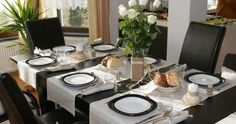 A Guide To Everyday Dining Room Table Decor Ask - Comfortable Home - Runners instead of place mats