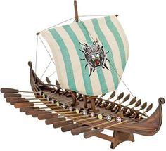 Drakkar Osererg Viking Longship Collectible Museum Replica Ship Model