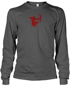 Bow Life On Point Long Sleeve T-Shirt   Bowhunting Shirts   Archery Apparel