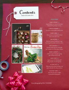 Adorable magazine design