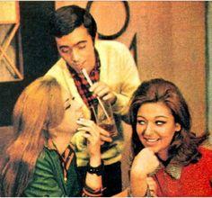 os amores de Bob - novela de Lucia Lambertini - 1968 - Tv Tupi - cena com Tony Ramos