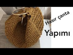 Crochet Bag Tutorials, Crochet Videos, Crochet Projects, Crochet Rug Patterns, Purse Patterns, Knit Crochet, Crochet Hats, Crochet Shoulder Bags, Crochet Magazine