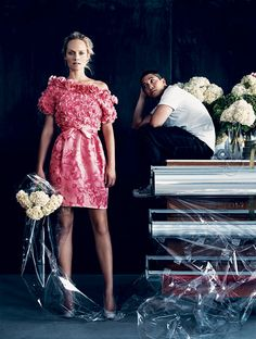 THAKOON PANICHGUL: Thakoon Panichgul once told Women's Wear Daily that he'd be a beekeeper in another life—which made a lot of sense for a designer who likes flowers almost as much as bees do and whose work has such a winged weightlessness.
