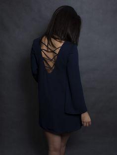 NAOMI http://www.commondesign.pl/produkt/naomi-granat/ mini dress sexy back