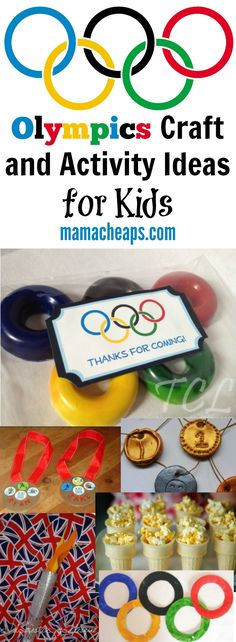 Olympics Craft and Activity Ideas for Kids - get ready for this Summer's Olympic games!  Read more on mamacheaps.com!