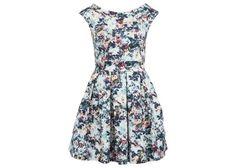Barevné květované šaty Closet
