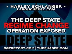 "DEEP STATE REGIME CHANGE OPERATION EXPOSED -- Harley Published on Aug 1, 2017- ""We're dealing with a coup, a regime change operation run by the same people who have done this over and over in Libya, in Ukraine, in Central America, these so called banana republics. They're turning the United States into a banana republic."" -- Harley Schlanger"