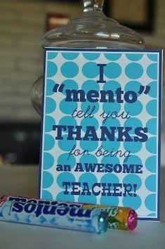 A Creative Day: Teacher appreciation....or employee
