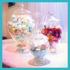 Set De 3 Potiches Candy Bar Carameleras Bomboneras - $ 589,99 en MercadoLibre