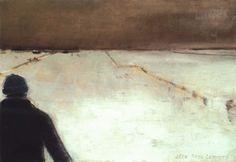 La tuque bleu par Jean-Paul Lemieux Jean Paul Lemieux, Portraits, Canada, Art Prints, Master Bedroom, Notebook, Paintings, Painters, Artists