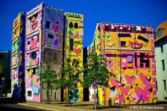 The Happy RIZZI House in Braunschweig, Germany.