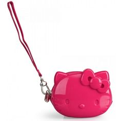 Hello Kitty Pink Coin Bag with Strap
