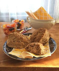 A lovely quick bread made from pantry staples