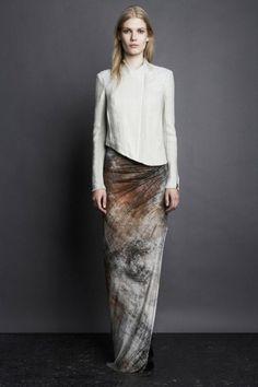 maidsofbondstreet:Yulia Terentieva for Helmut Lang, Pre-Fall 2011