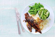 23 september - sperziebonen in de bonus - De basis van dit gerecht: pittig gemarineerde vis uit de oven - Recept - Allerhande