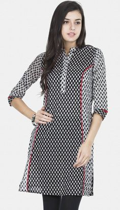 princess cut long sleeve casual kurti for stylish women