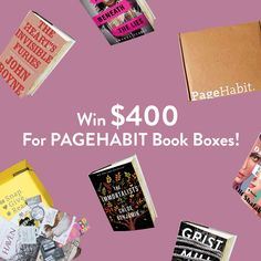 Just added grand prize: Win $400 for PageHabit Book Boxes!