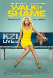 Walk of Shame (May 2014) a comedy film about Meghan, a LA TV news anchor who loses an audition for her dream job, goes out for a night of partying, and awakes in a stranger's bed.  She receives a phone message from her agent the next day, stating that the job is hers, if she can make it across town by 5pm.  Stranded in an unknown area without money, a phone, and a car, she embarks on a series of misadventures.  Directed by Steven Brill.  Stars: Elizabeth Banks, Ethan Suplee, and James…