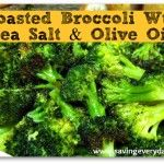 Permalink to: Oven Roasted Broccoli Recipe | With Sea Salt & Olive Oil