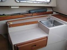 Image result for catalina 22 galley for sale