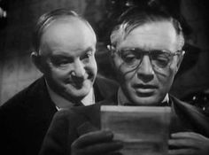 """Sidney Greenstreet and Peter Lorre in """"The Mask for Dimitrios."""" Based on an excellent book by Eric Ambler."""