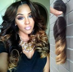 Brazilian Body Wave Ombre – The HairBox