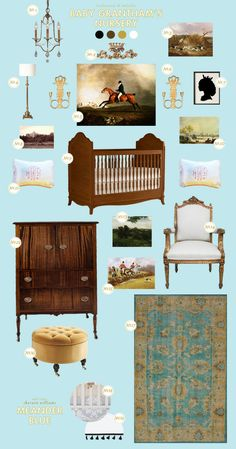 downton abbey nursery inspiration!