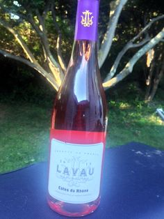 Lavau Côtes du Rhône Rosé 2013 - a Rosé  wine that would pair well with winter and fall dishes. You can still drink pink after summer is over!