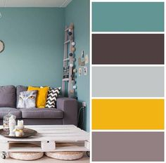 23 Things You Should Know About Grey Couch Living Room Ideas Color Schemes Colour Palettes 68 Color Schemes Colour Palettes, House Color Schemes, Living Room Color Schemes, Paint Colors For Living Room, Living Room Grey, Bedroom Colors, Home Living Room, House Colors, Living Room Designs