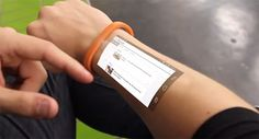 The Cicret Bracelet, make your skin your new touchscreen (not a product yet) | #wearabletech #iot