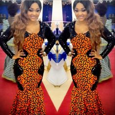 Celebrity Photo: Checkout Mrecy Aigbe On This Beautiful Ankara Styles