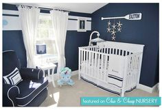 Nautical nursery - Nursery Themes #nursery #themes #decorating